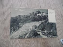 CPA Suisse Valais Fûrkapost Mit Belvédère Und Rhoneglescher Diligence Courrier - VS Valais