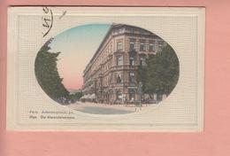 OLD POSTCARD - LATVIA - RIGA - ALEXANDERSTRASSE - Lettonie