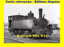 BVA 618-01 - Loco Piguet 130 T N° 31 - VIEUX-LOURCHES - Nord - CF Cambrésis - France