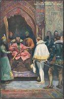 The Origin Of The East India Company, C.1910 - Tuck's Oilette Postcard - Andere Illustrators