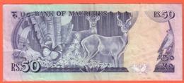 MAURITIUS , MAURICE - 50 Rupees De 1987 - Pick 37 - Maurice
