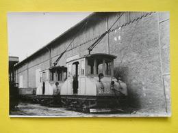 Abbeville ,matériel De Service ,photo Laurent ,depot De Capelette - Abbeville