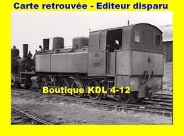 BVA 618-03 - Loco Corpet-Louvet 141 T N° 42 - CAUDRY - Nord - CF Cambrésis - Caudry