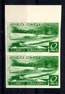 Espagne YT N° 625C (non-émis) En Paire Non Dentelés Neufs ** MNH. TB. A Saisir! - 1931-Today: 2nd Rep - ... Juan Carlos I