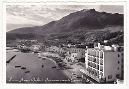 LACCO AMENO - ISCHIA - NAPOLI - PANORAMA E MONTE EPOMEO -36877- - Napoli (Napels)