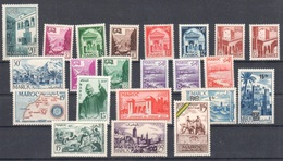 Maroc Morocco Collection All Mnh ** Not Counted LOW START - Morocco (1956-...)