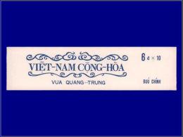 VIETNAM DU SUD Carnets ** - C 418, Carnet De 10: Quang-Trung - Cote: 97 - Viêt-Nam