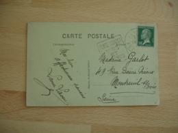 Daguin Veyre Monton Vin Et Fruits  Flamme Omec - Postmark Collection (Covers)
