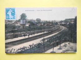 Montdidier ,gare Marchandises,couleur ,toilée - Montdidier