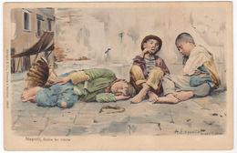 NAPOLI - DOLCE FAR NIENTE - ILLUSTRATORE A. ESPOSITO -41820- - Napoli (Naples)