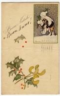BUON NATALE - Dis. BUSI - 1921 - Vedi Retro - Formato Piccolo - Santa Claus