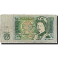 Billet, Grande-Bretagne, 1 Pound, KM:377a, B+ - 1 Pound