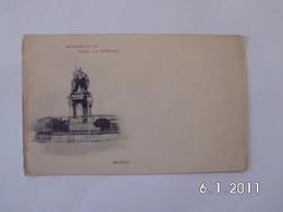 Madrid. - Monumento De Isabel La Catolica. - Madrid