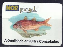 1991 Pocket Calendar Calandrier Calendario Portugal Peixes Fishes Poissons Pez - Calendriers