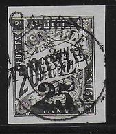 GABON - YVERT N° 13 OBLITERE - COTE = 160 EUR. - PETITE DECHIRURE EN BAS - Gebraucht