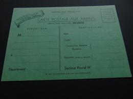 Carte En Franchise Pour Les Soldats Sur Le Front Durant La 2nde Guerre Mondiale - Postal Stamped Stationery