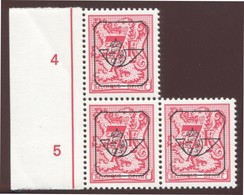 COB  Typo  812 (P6)  Bloc De 3 - Precancels