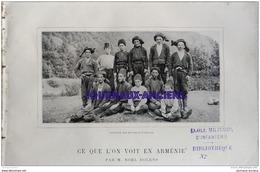 1907 ARMENIE - PAYSANS D'ERIVAN - RUINE D'ANI - PAYSANS DE LA VALLÉE TCHAROTT - LE TOUR DU MONDE - Newspapers