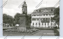 5300 BONN, BEETHOVEN - Denkmal Und Hauptpost, 1960 - Bonn