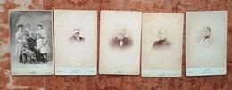 LOT De 5 PHOTOS ANCIENNES De NADAR / MARSEILLE / 21 RUE DE NOAILLES - Photos
