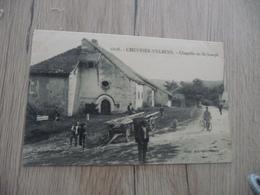 CPA 74 Haute Savoie Chevrier Vulbens Chapelle Saint Joseph - France