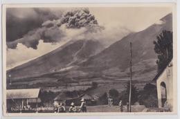 Erupcion Del Fuego (Guatemala) Enero 1932 Café Eruption Vocan Volcano Cachet Timbre Stamp Cancellation Postal Mark - Guatemala