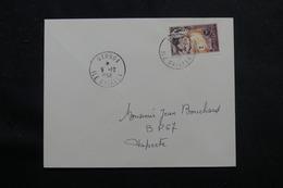 POLYNÉSIE - Enveloppe De Uturoa Pour Papeete En 1968 , Affranchissement Plaisant - L 55991 - Briefe U. Dokumente