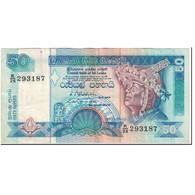 Billet, Sri Lanka, 50 Rupees, 1992, 1992-07-01, KM:104b, TTB - Sri Lanka