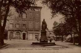13-AIX EN PROVENCE...LA RUE RENE (PLACE FORBIN)....CPA - Aix En Provence