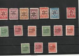1945 MNH Mint Never Hinged Sc. 448-463,                 132 - 1945-59 Repubblica Popolare