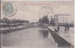 93 PANTIN - Les Pêcheurs Au Pont Delizy - Pantin