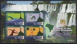 Sri Lanka (2016) - Block -  /  Olympic Games Rio - Javelin - Swimming - Judo - Weightlifting - Summer 2016: Rio De Janeiro