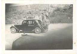 Grande Photo ( 13x18 Cms ) Soldat & Citroën Traction Militaire Numérotée    ( AU ) - Automobili