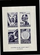 1945 MNH Mint Never Hinged Sc. 489, Yv. BF 2, Mi. Block 2               137 - Ungebraucht