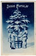 BUON NATALE - DIS. A. BERTIGLIA - BAMBINI - 1922 - Vedi Retro - Formato Piccolo - Anno Nuovo