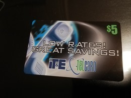 GUAM/ SAIPAN  PHONECARD $5 Fine Used  ** 357 ** - Guam
