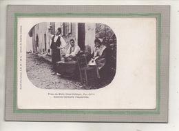 CPA - (66) PRATS-de-MOLLO - Aspect De La Fabrication D'espadrilles Par Les Catalans En 1900 - Frankrijk