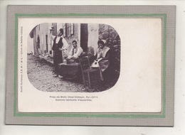 CPA - (66) PRATS-de-MOLLO - Aspect De La Fabrication D'espadrilles Par Les Catalans En 1900 - France