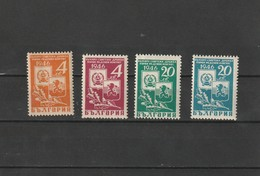 1946 MNH Mint Never Hinged Sc. 523, 525 Both Colors, Yv. 473-476, Mi. 529-532               142 - Ungebraucht