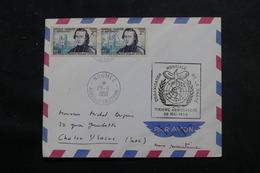 NOUVELLE CALÉDONIE - Enveloppe De Nouméa Pour La France En 1958 , Affranchissement Plaisant - L 56002 - Cartas