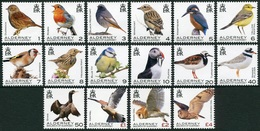 Alderney 2020  **/MNH   Correo Yvert Nº     Fauna: Aves (16v) - Alderney