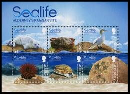 Alderney 2020  **/MNH   Correo Yvert Nº     Fauna : Vida Marina - MH - Alderney