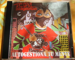 CD PUNK ESPAGNE ESPAÑA CORDOBA - TOTAL RESISTENCIA / AUTOGESTIONA TU MENTE - W.C. RECORDS - Punk