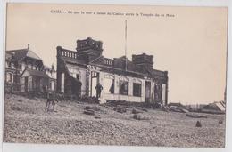 76 CRIEL-SUR-MER - Ce Que La Mer A Laissé Du Casino Après La Tempête Du 16 Mars 1914 - Criel Sur Mer