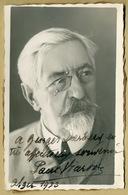 Paul Viardot (1857-1941) - French Violinist - Rare Signed Photo - 1933 - COA - Autographes