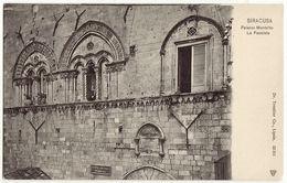 SIRACUSA - PALAZZO MONTALTO - LA FACCIATA -19206- - Siracusa