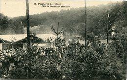 PAPETERIE De L' ODET -- FÊTE DU CENTENAIRE -- 1822 - 1922 --  N° 36 -- CLICHE ASSEZ RARE - - Ergué-Gabéric