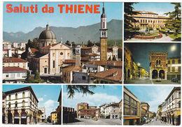 THIENE - VICENZA - SALUTI DA.. - VEDUTINE - VIAGG. 1968 -31115- - Vicenza