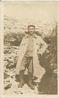Photo Soldat Français Du 25 Eme RI Dans Une Tranchée à La Louvière  / 14-18 / WW1 / POILU - 1914-18