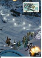 ANDORRE. Le Ski En Andorre. Carte-maximum - Hiver